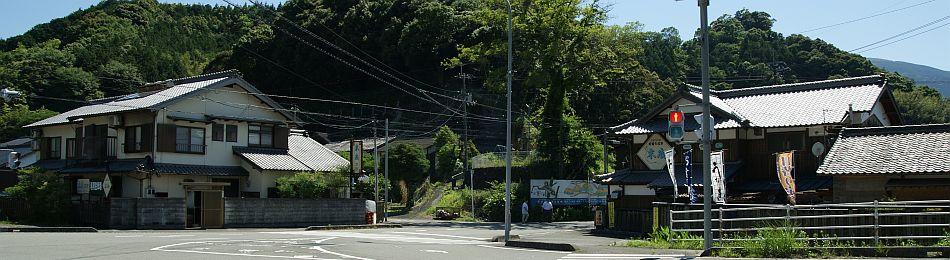北宇和郡松野町の末廣旅館の全景
